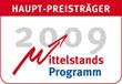 Hauptförderpreis des Mittelstandsprogramms 2009