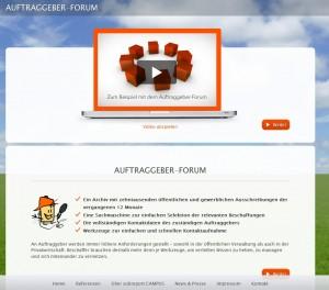 Auftraggeber-Forum